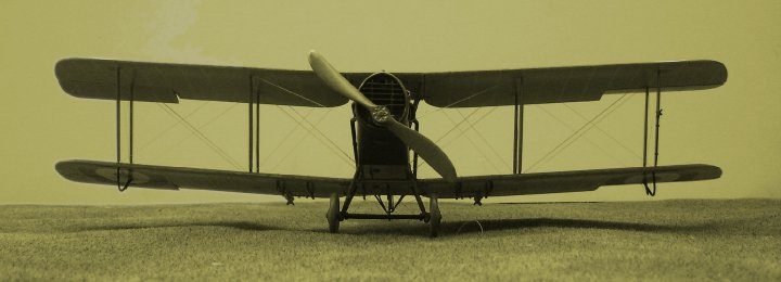 Bristol F.2B Fighter F4337, probably No 48 Squadron RAF, Fienvillers, 1919. Kit is in 1/48th scale and by Eduard.