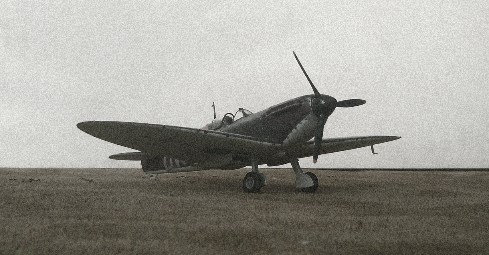 Spitfire Mk Ia of 610 Squadron 1940. Kit is 1/48th scale by Tamiya.