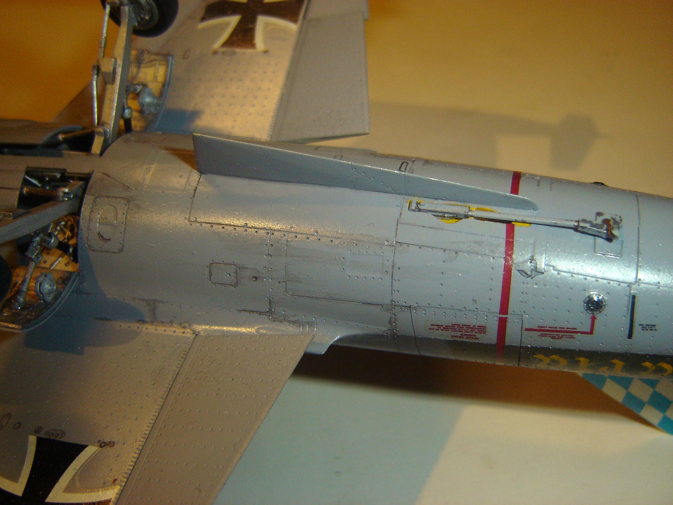 "Lockheed F-104G Starfighter 20+62, JG.32 ""Bavaria"", Luftwaffe, July 1983. Hasegawa kit in 1/48th scale."