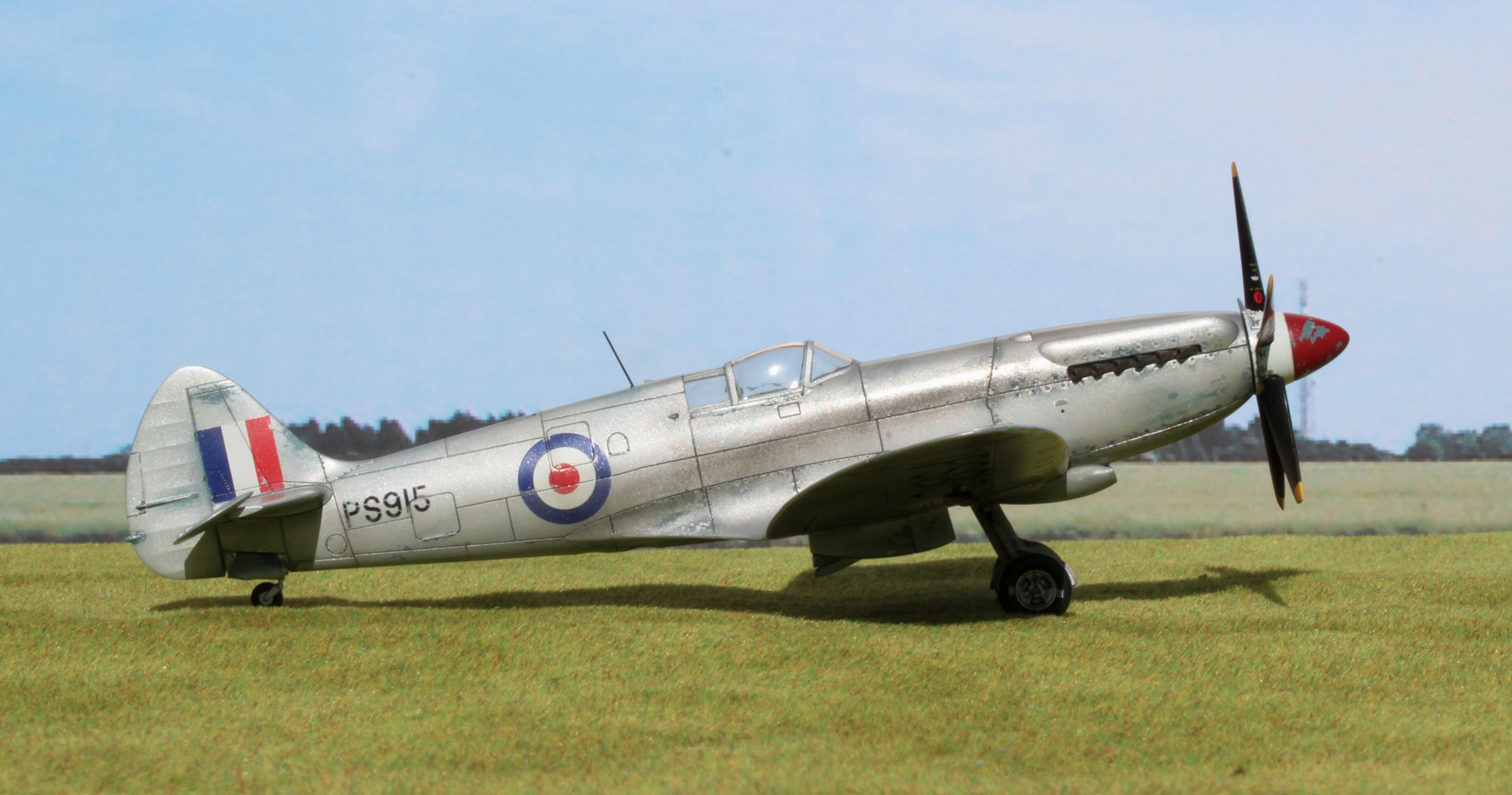 Edited image of Spitfire Mk XIX