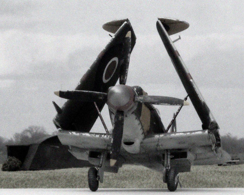 Airfix Seafire Mk XV.