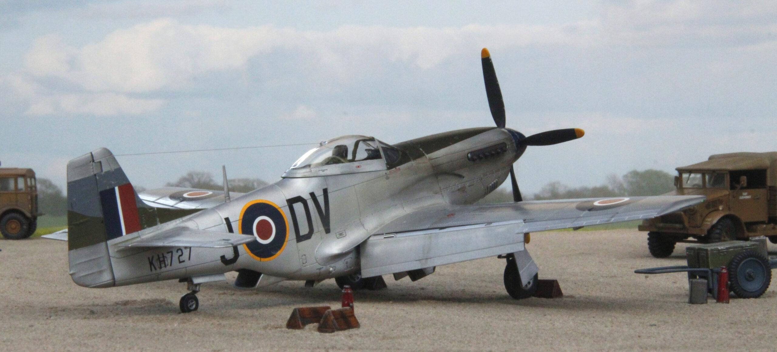 P-51K Mustang Mk IVa RAF in 1/48 scale